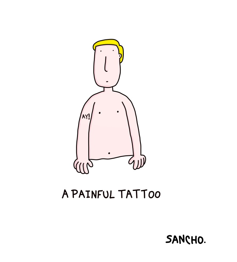 PAINFUL TATTOO
