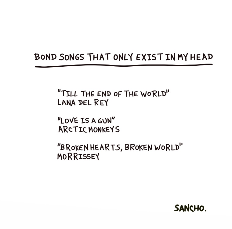 BOND SONGS