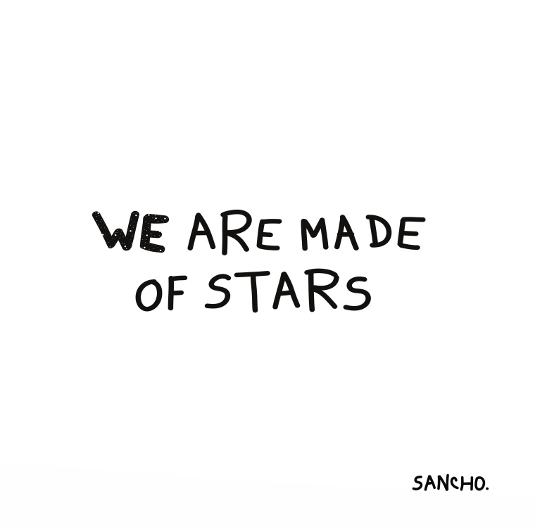 WEAREMADEOFSTARS