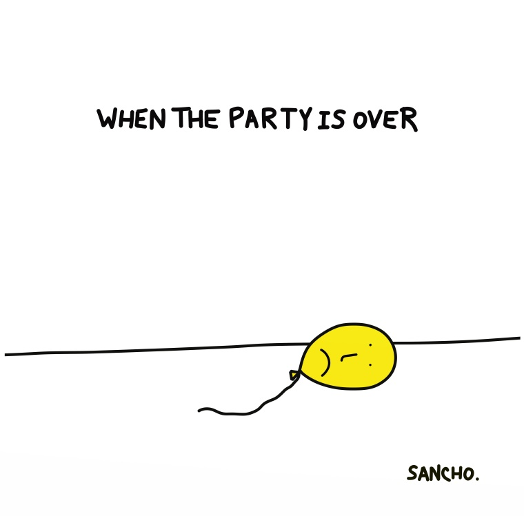 WHENTHEPARTYISOVER